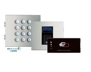 Adgangskontrolmoduler og tilbehør