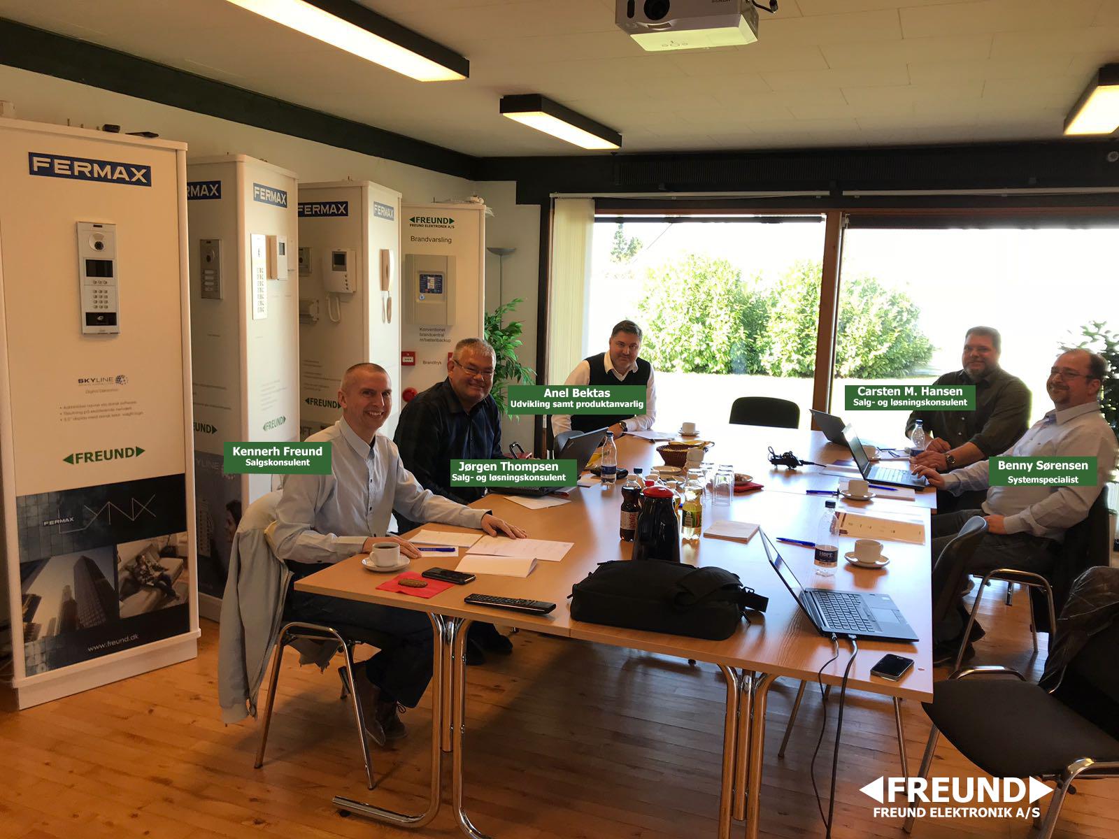 DUOX seminar- Team Freund har gennemgået et seminar i Duox fra Fermax