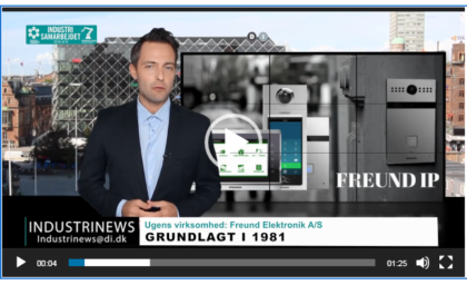 Ugens Virksomhed- Freund Elektronik A/S