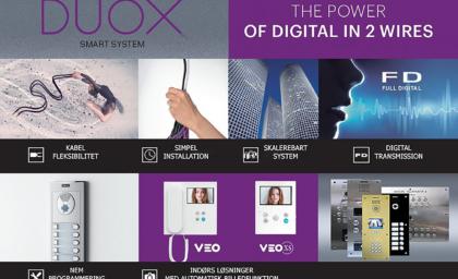 Dørtelefon system DUOX fra FERMAX finder success over hele verden