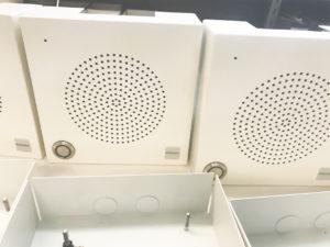 Ip-integra højttaler til audiosystemer