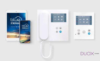 DUOX monitorer med indbygget WiFi, besvar døropkald via din mobiltelefon